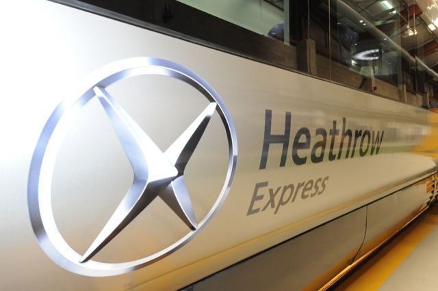 640 heathrow express exterior