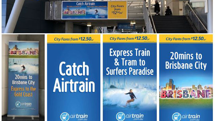 Marketing Brisbane Airtrain