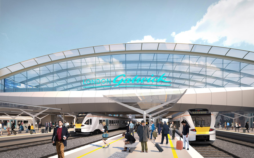 2 New image of how Gatwicks new station will look web