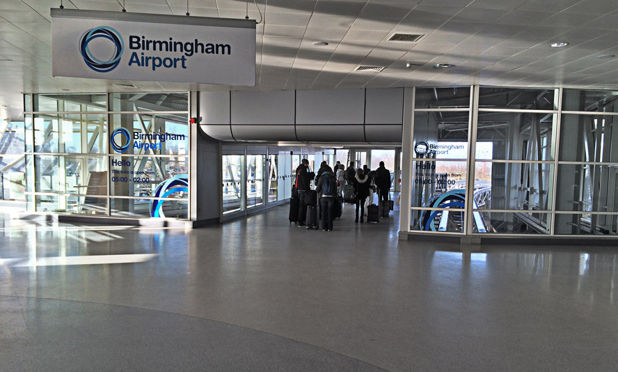 Air Rail Link at Birmingham International Station