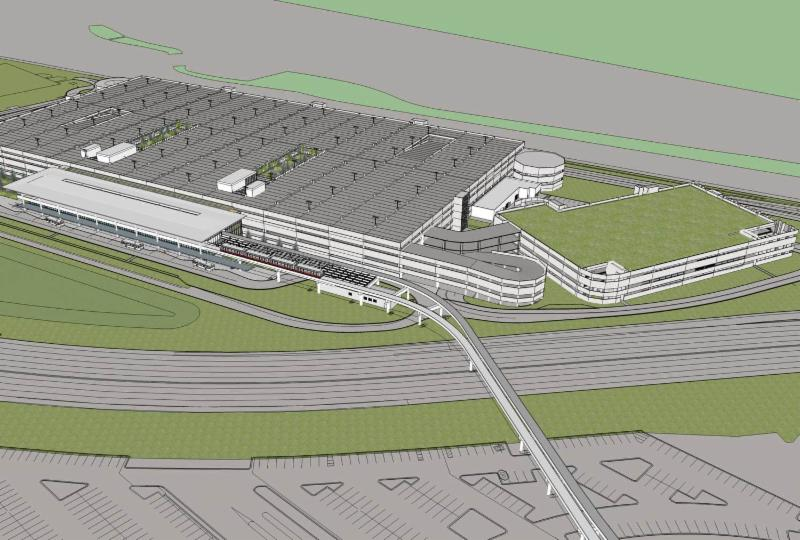 Parsons To Design And Manage Construction Of Transit System Expansion At O Hare International Airport on car storage facility chicago