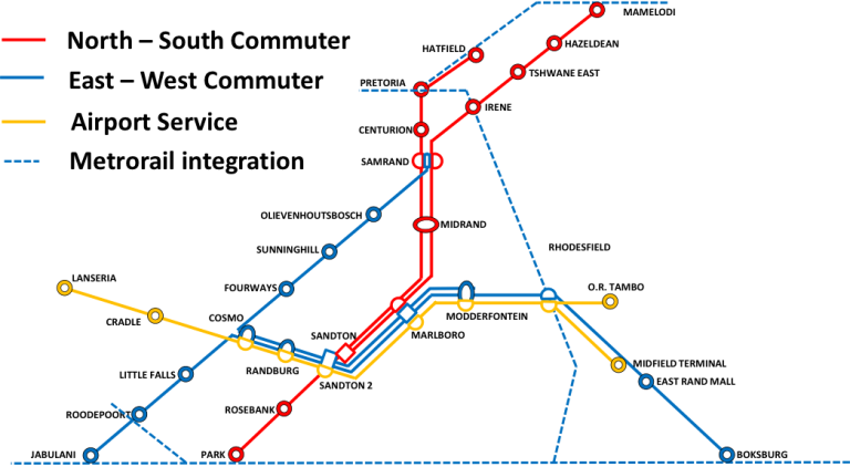 Gautrain network expansion