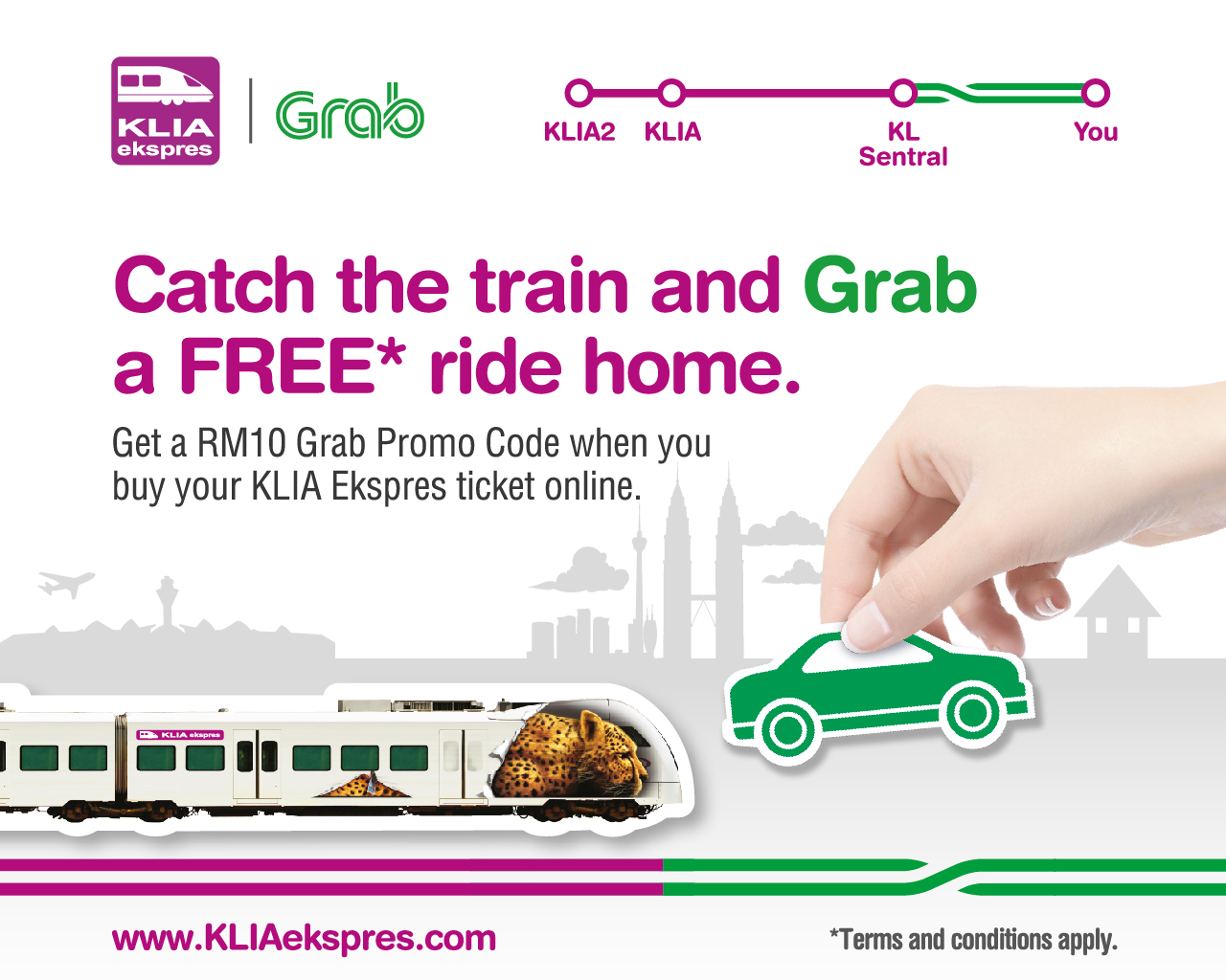 KLIA Ekspres Grab Package