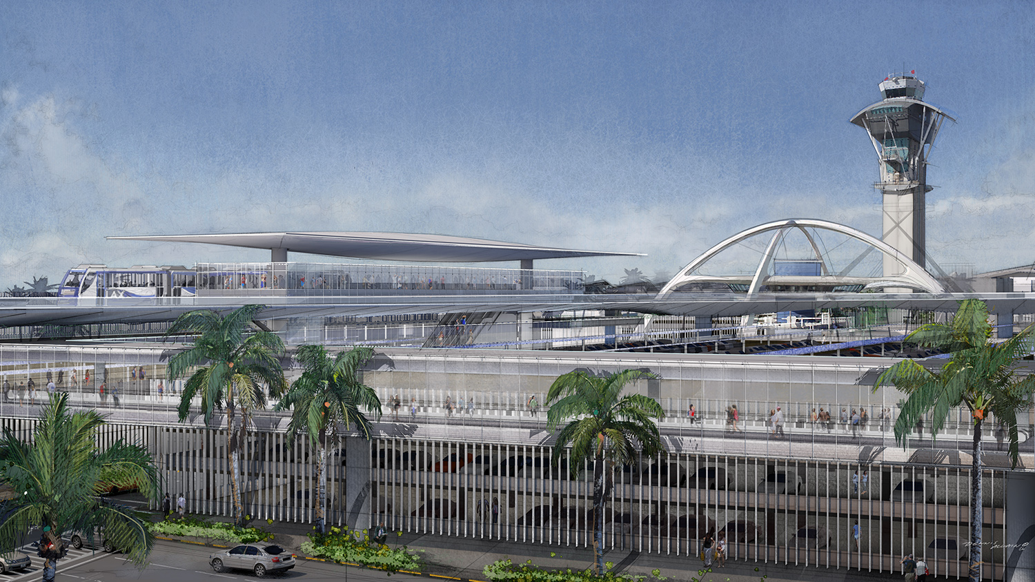 Rfp For Automated People Mover At Lax To Be Released At