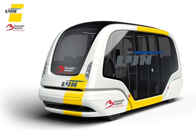 Brussels Airport Autonomous Shuttle