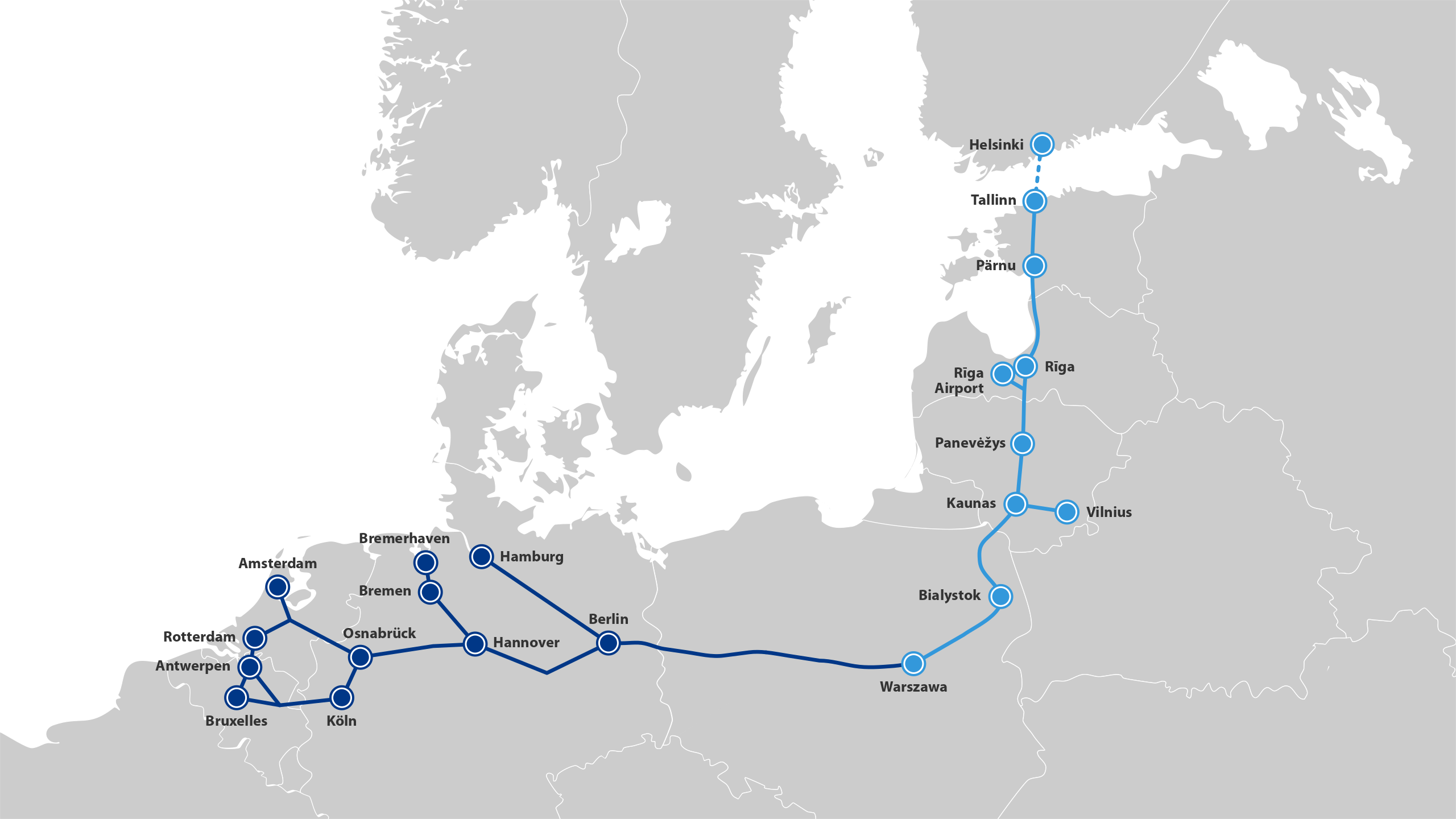 Rail Baltica North Sea Baltic Network