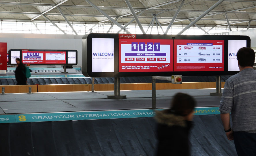 Stansted Express are empowering travellers with a smart, hyper-contextual  Digital Out of Home campaign - News