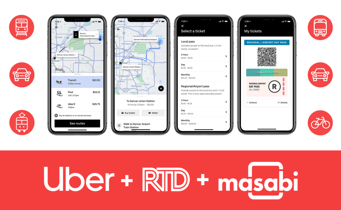 Masabi Uber RTD launch header 1100x677