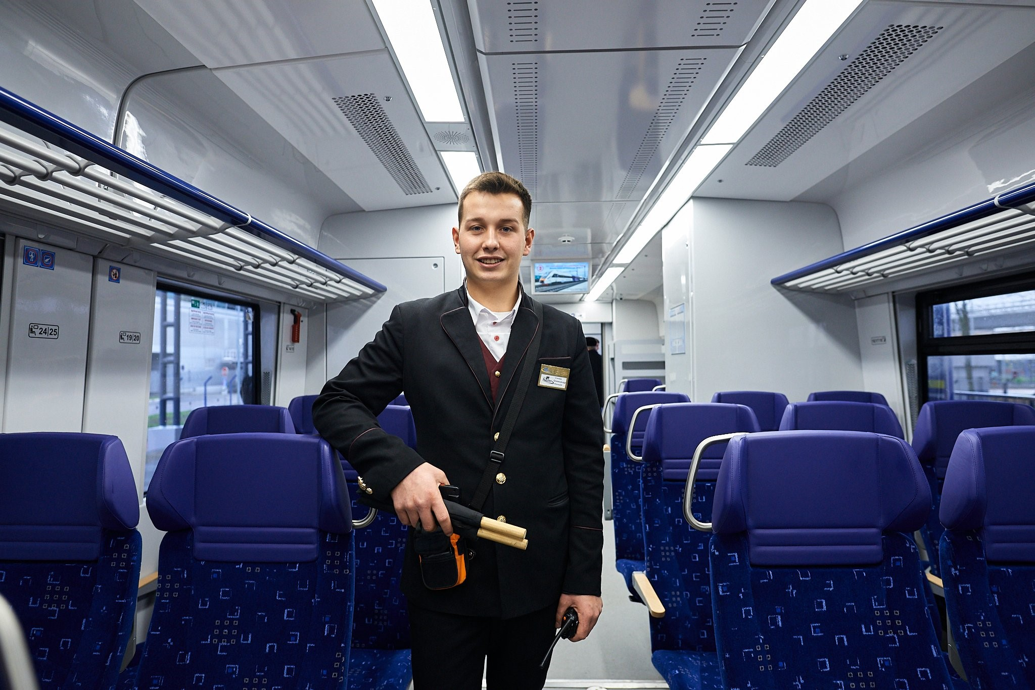 Kyiv Boryspil Express new trains 1