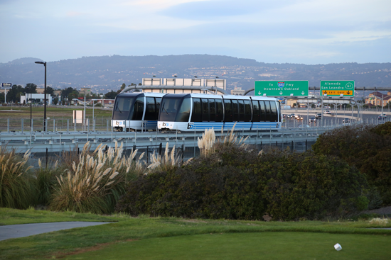 Oakland Airport opens its BART connector to wider rail network