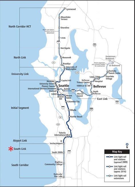 Sound Transit Expedites Light Rail Extension To The